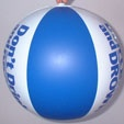 small inflatable ball
