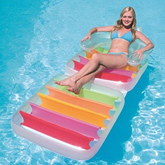 Inflatable Water Floating Row