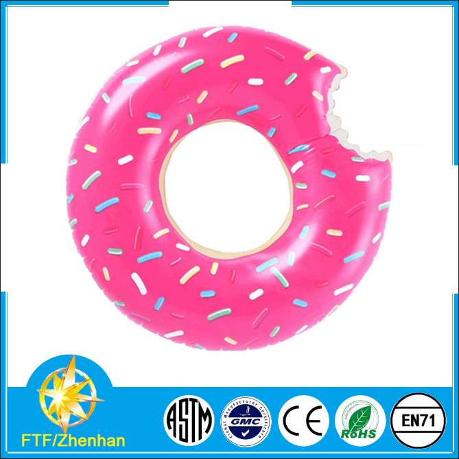inflatable donut pool toy