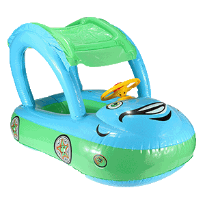 Inflatable baby car seat