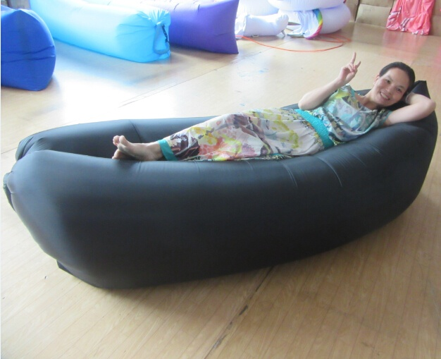 3 Season Type and air Filling inflatable sleep bag