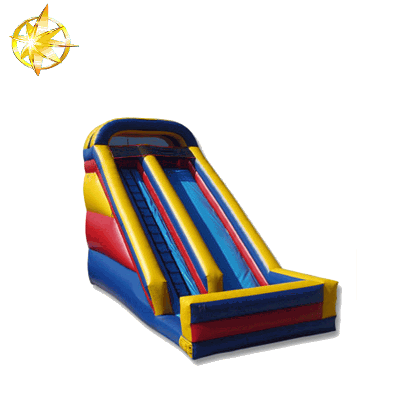 2016  inflatable double lane slip slide inflatable slide for sales