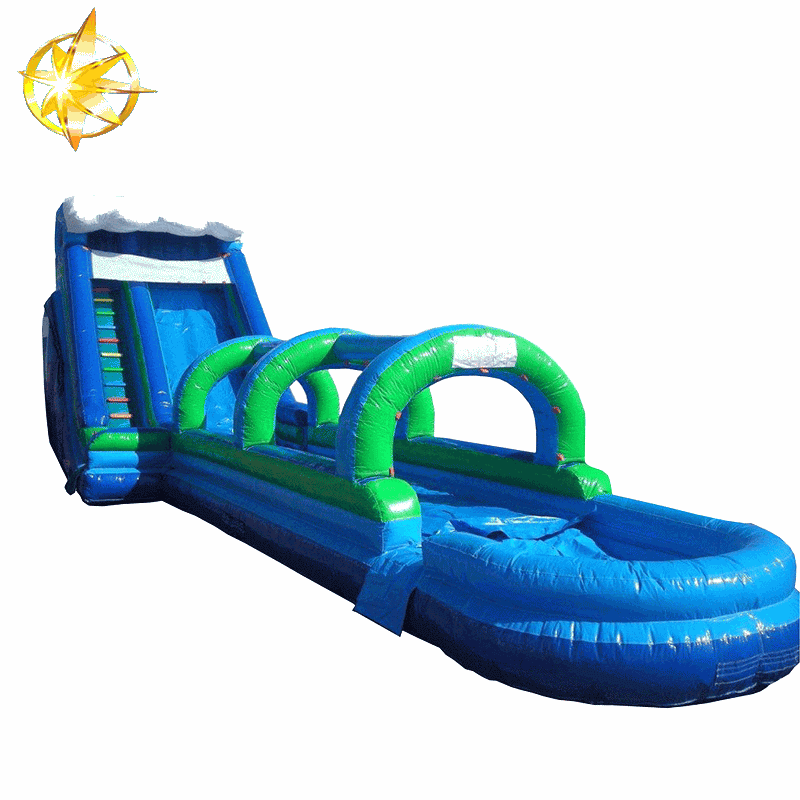 backyard inflatable water slides