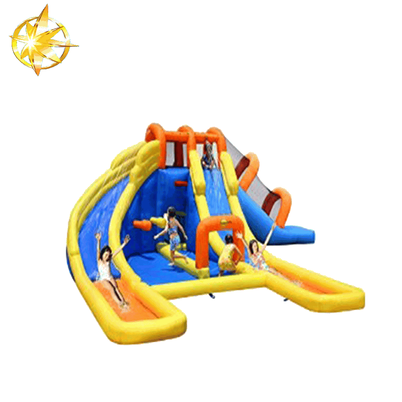 castle bounce and slide inflatable bouncer