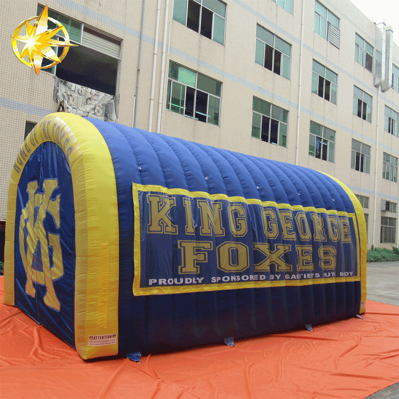 football inflatable tunnel
