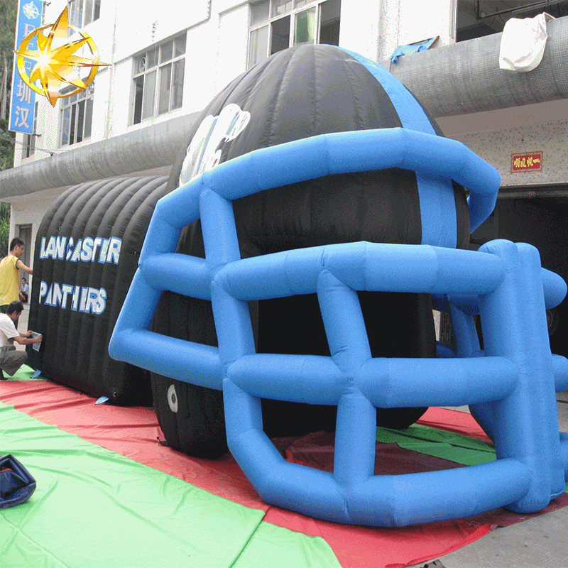 Inflatable tunnels,football tunnel entrance