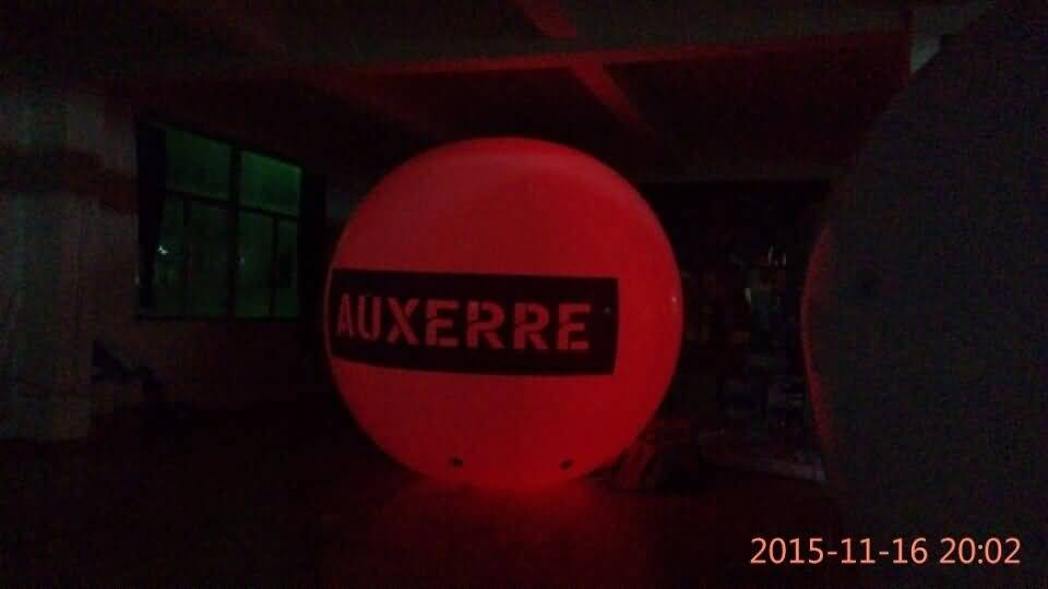 Giant LED inflatable ball