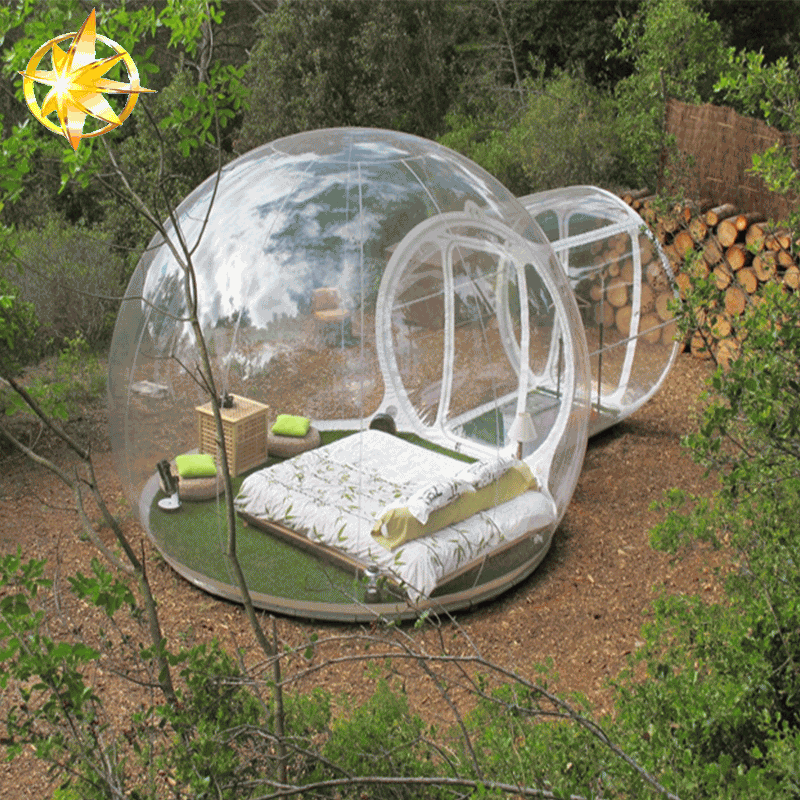 2018 Transparent Inflatable Commercial clear bubble tent For Sale