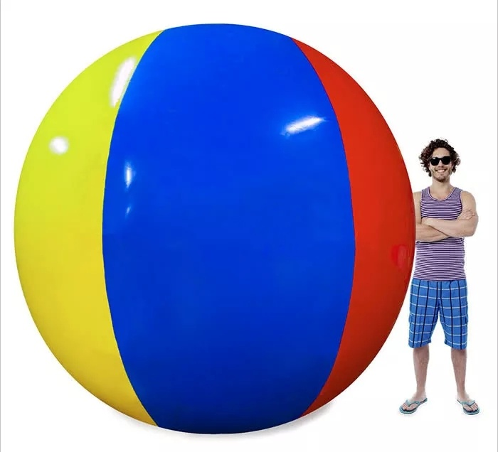 12 feet inflatable beach ball