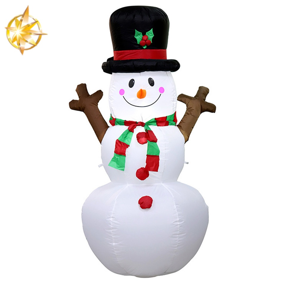 Christmas inflatable snowman courtyard art decoration children's Christmas toys