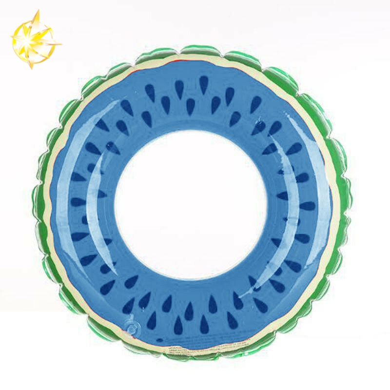swimming inflatable ring blue watermelon circle adult kids pool customized-size