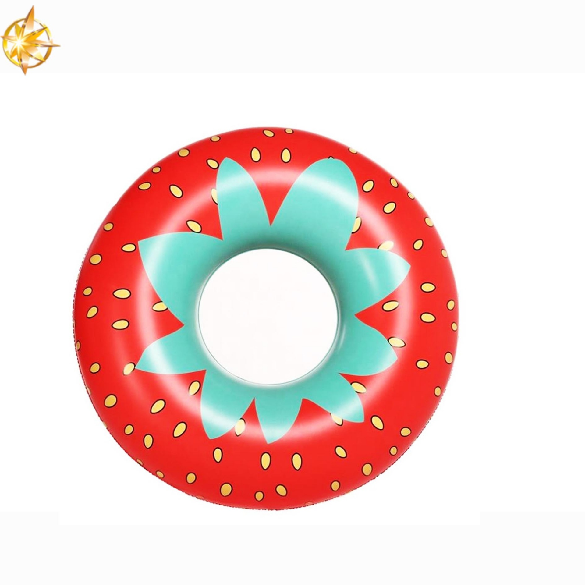 Customized hot-selling PVC inflatable life buoy floating swimming ring