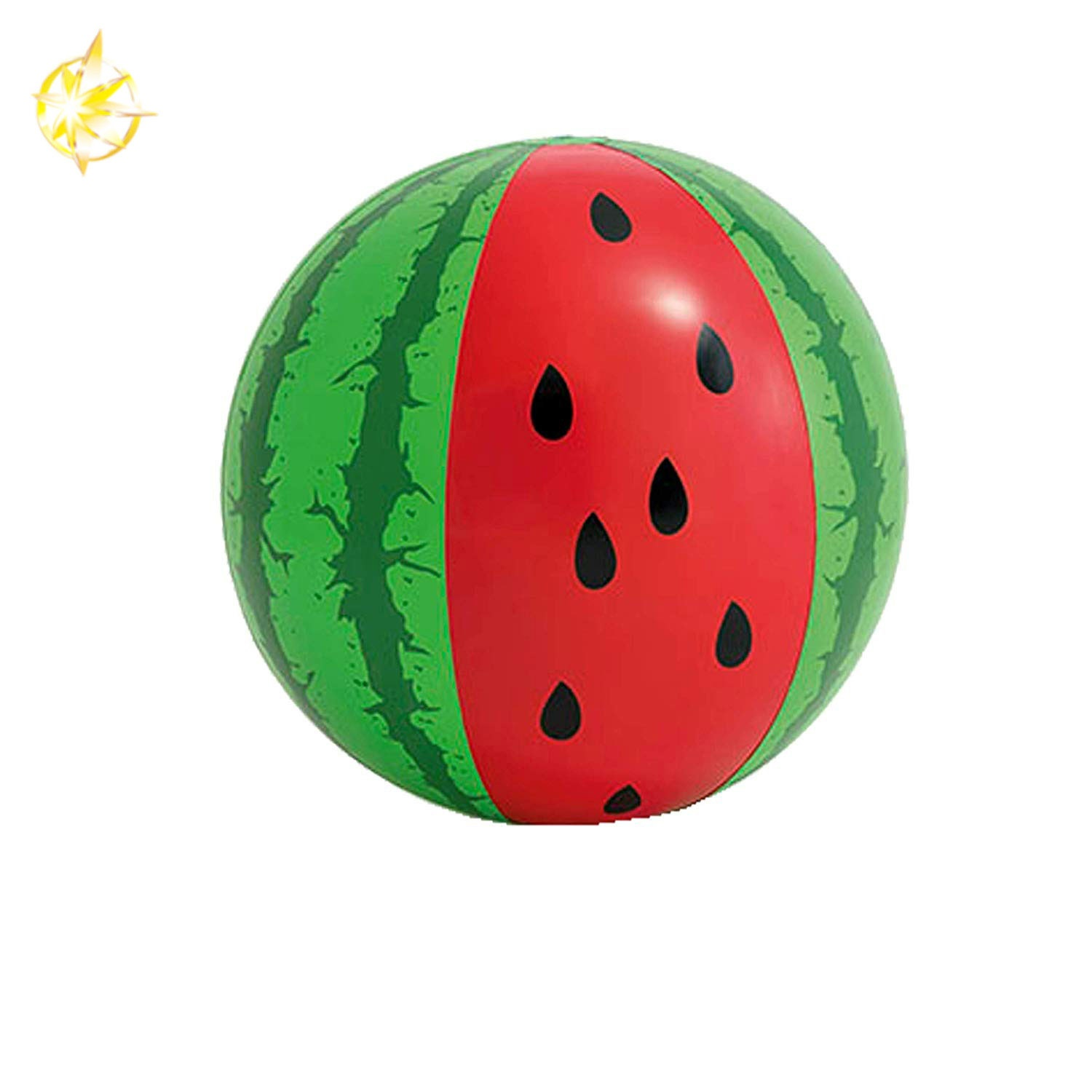 large inflatable watermelon beach ball toy for swimming pool party