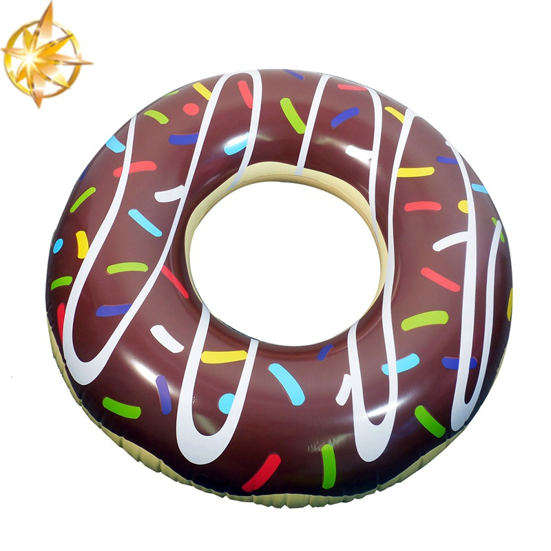 Summer Water Sports Pool Toys for Adult Pool Floating Adult Inflatable Donuts Swimming Circle