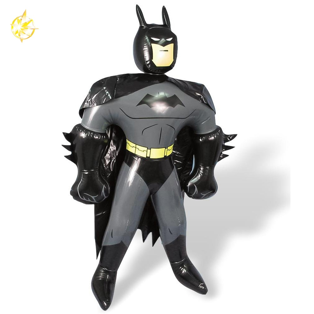 Inflatable superhero batman toys party decoration for kid boy toy