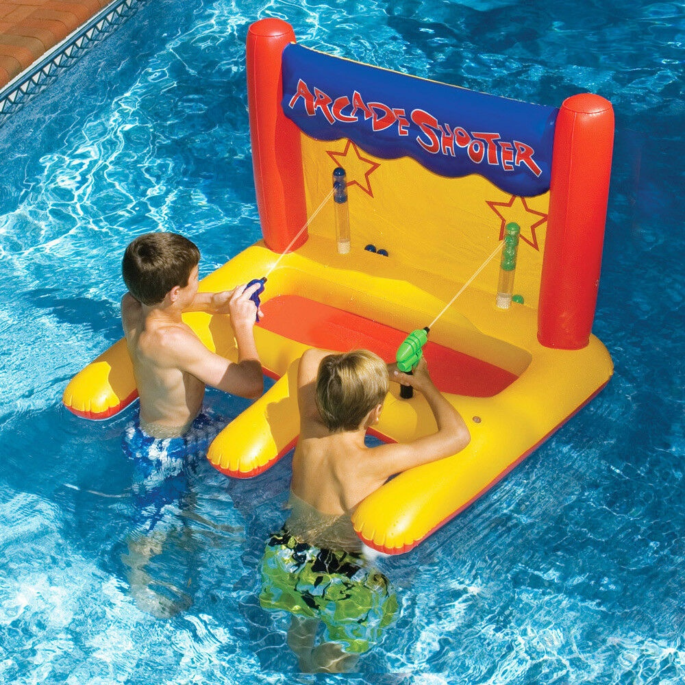 Swim Arcade Shooter Swimming Pool Inflatable Float Game