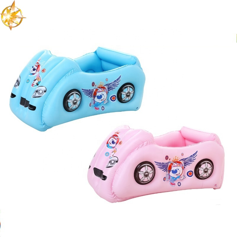 High quality inflatable baby swimming pool mini cartoon car PVC inflatable swimming pool